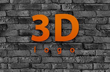 3D nápisy a logá